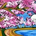 Cherry Swirl - 11x14 matted print by Joel Traylor