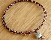 Braided Copper Bangle Tutorial / Instructions