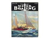 Vintage Motor Boating Magazine February 1940