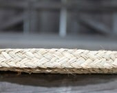 Plaited seagrass roll 1 inch wide- 20 foot roll-Polynesian costumes, Tahitian dance, flat braid, natural, trim