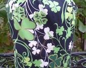 Irish Knitting project bag, WIP bag, drawstring bag, crochet project bag, Celebrate Ireland, Suebee