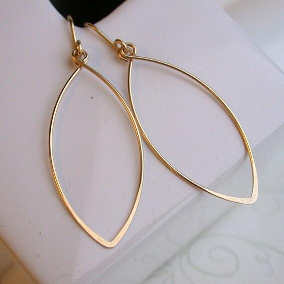 Mod Leaf Earrings