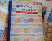 Quilt pattern book, Quilts from Sweet Jane, patterns for precut fabric bundles
