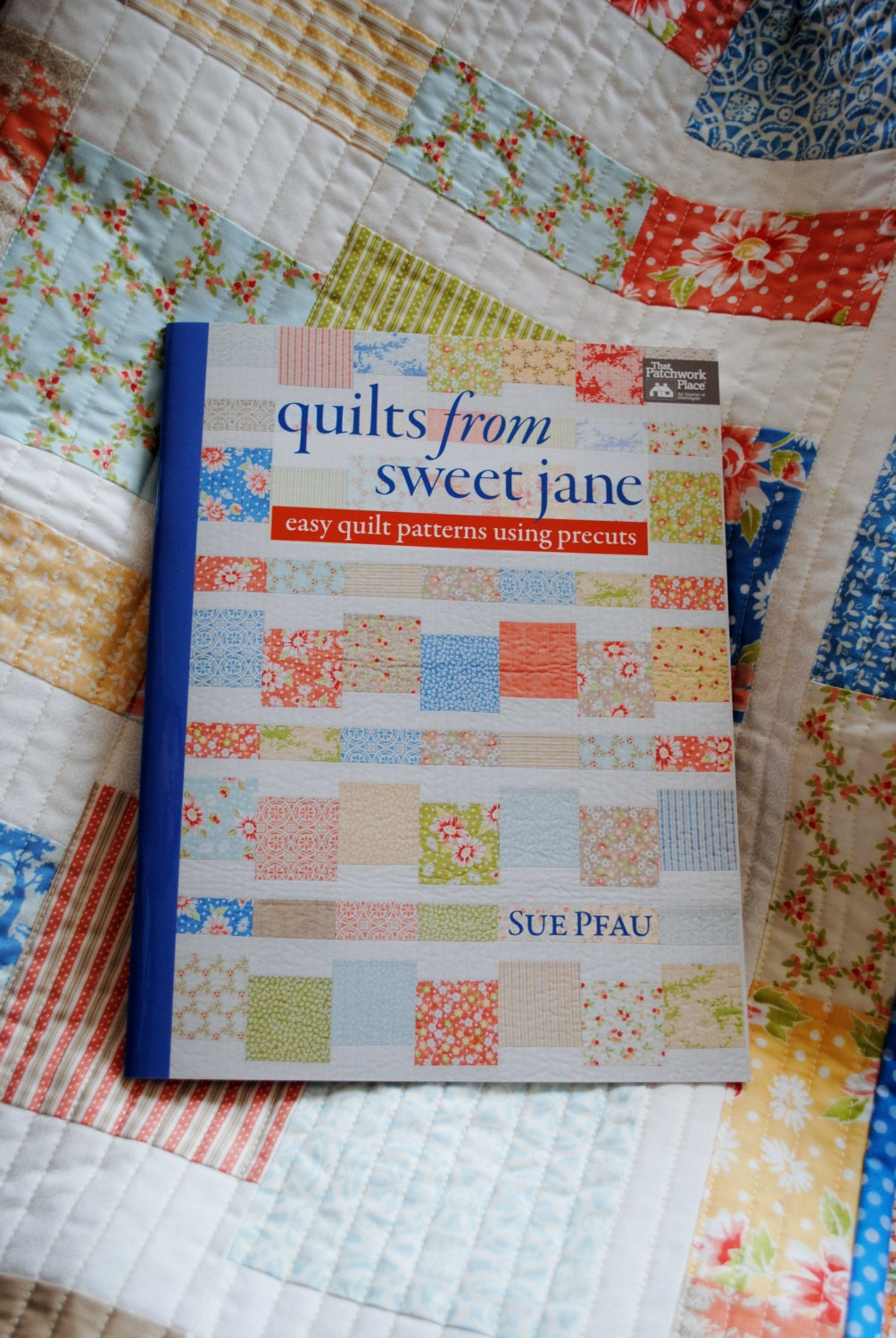Quilt pattern book Quilts from Sweet Jane patterns for
