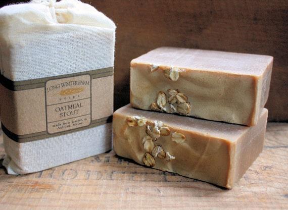 Oatmeal Stout Vegan Cold Process Soap