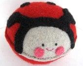 Red Ladybug - Recycled Cashmere Plush Toy