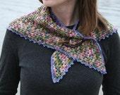 Pattern - Downeast Shawlette Crochet Pattern by Blarney Yarn