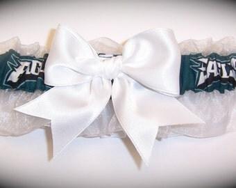 Philadelphia Eagles Wedding Garter   Handmade  Keepsake   Bridal wh1