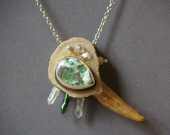 Wood Fairy Talisman Necklace