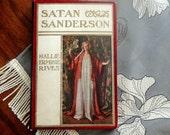Handbound Artist Journal from vintage SATAN SANDERSON