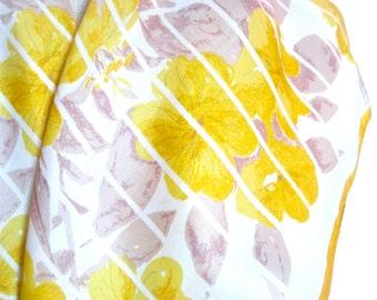 Morning Glory - a vintage 1960's hand-painted Vera Neumann Lucky Ladybug silk scarf