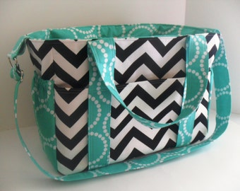 Popular items for chevron diaper bags on Etsy