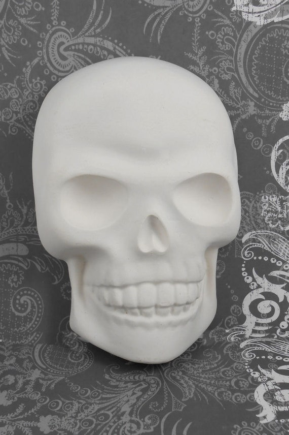 Paint It Yourself Skull Wall Hanging