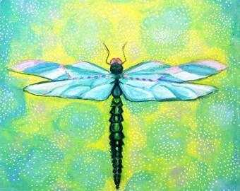 Dragonfly print by Shelagh Duffett