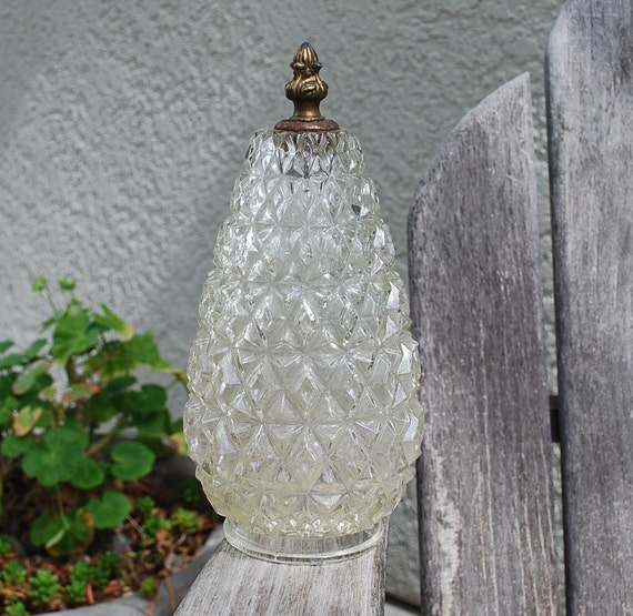 Ceiling Lamp Glass Cover: Vintage Glass Ceiling Globe Light Cover By