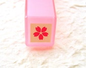 Cherry Blossoms Rubber Stamp PINK Sakura Self Inking Pre Inked
