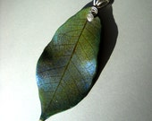 Simple Leaf Pendant