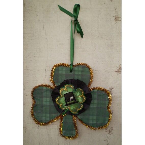 St Patrick's Day decoration home decor home decor St Patty's ornament Irish clover celtic Shamrock