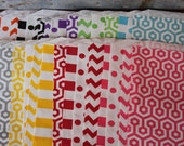 12 Treat Bags -  5 X 7.5 - You choose color and pattern