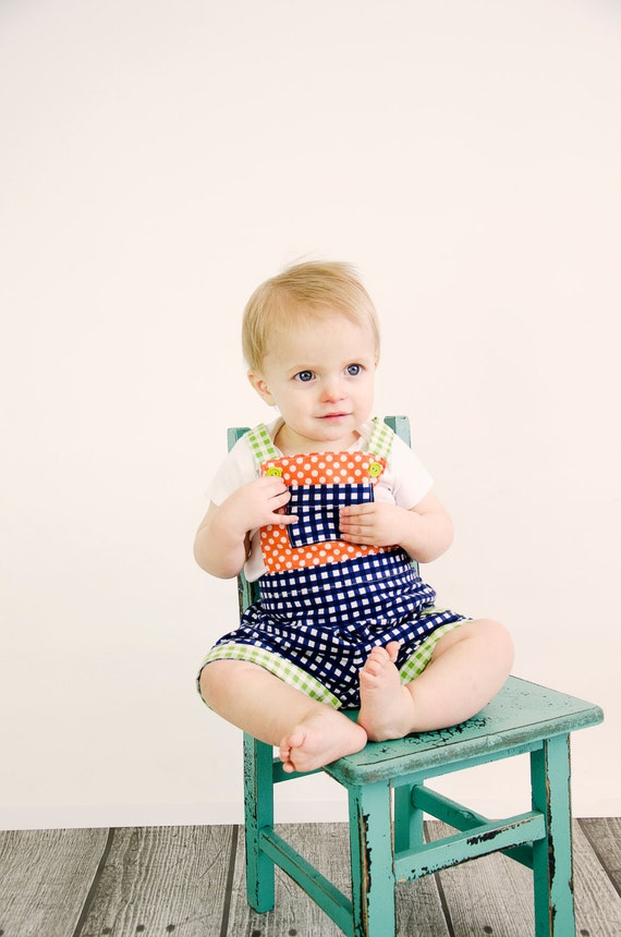 MaliAll Shortalls and Overalls Romper PDF Sewing Pattern.  Boy, Girl, shorts, pants. Sizes 0-4T