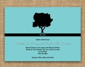Wedding Invitation - Tree