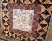 Batik quilt table top throw wall hanging reduced
