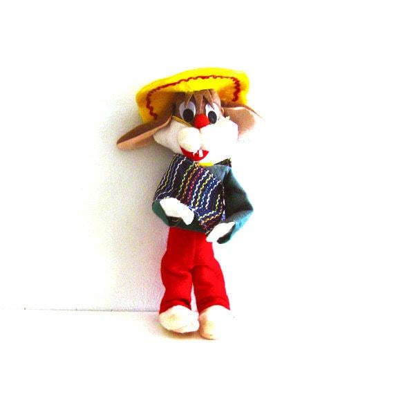 Vintage Dream Pet Doll Mexican Rabbit Plush Dakin Toy