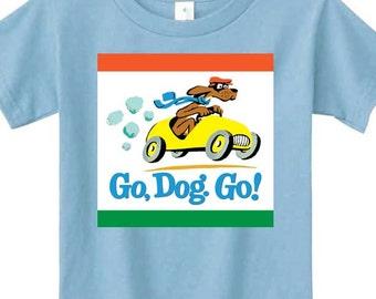 Go Dog Go Dr. Seuss t-shirt