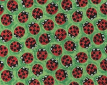 Bugging Out - From Blank Quilting - Green -1 Yard - 9.50 Dollars