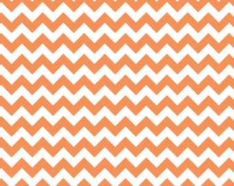 Chevrons - Orange - Fabric by Riley Blake - 9.50 Per Yard