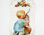 Little Boy and Bunny Gift Tags