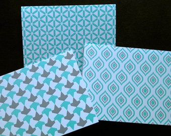 Letterpress Boxed Cards (Moroccan Mixture)