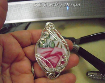Wire Sculpted Pendant Tutorial