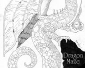 MAZES of DOOM: book of unique, exciting and challenging mazes
