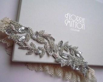 Aphrodite beaded garter