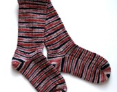Handmade Warm Wool Socks 715 787 -- Size Women 4-6 - ShadySideFarm