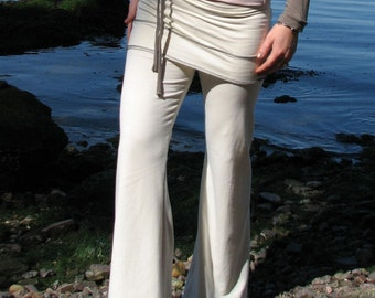 Womens Yoga Pants, Chill Realm Pants in Cream