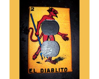 Loteria outlet light switch plate cover Mexico pop culture retro decor kitsch