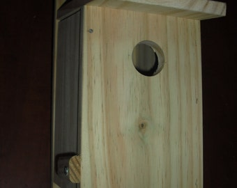 1 Bluebird bird house new