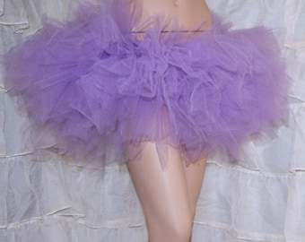 Lavender Pastel Purple Trashy TuTu Skirt All Sizes MTCoffinz