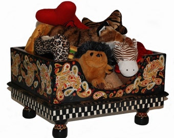 Perfectly Paisley Toy Box