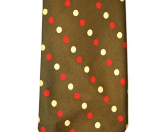 Vintage Mens Silk Brooks Brothers Polka Dot Necktie