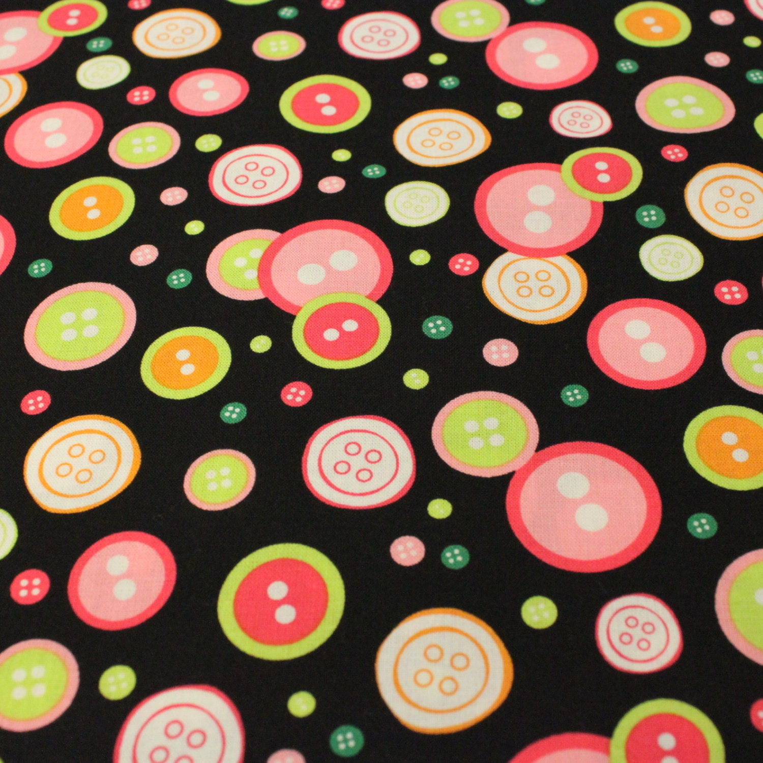 Button print fabric sew fine fabric by blank 1 yard for Planet print fabric