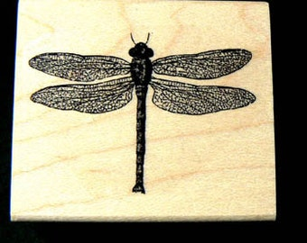 Dragonfly rubber stamp P11