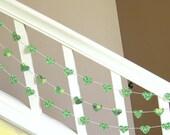 I Heart The Irish Garland - 3 yards - St. Patrick's Day Garland - Home Decor