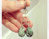 Natural Emeralds and Freshwater Pearls