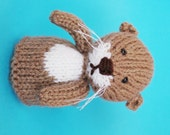 Otter Toy Knitting Pattern (PDF)