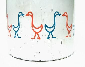 Vintage Mod Duck Flour Sifter