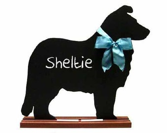 Collie Chalkboard or Sheltie Chalkboard - A Dog Lover Favorite - Perfect for a Texas A&M student, alum or fan