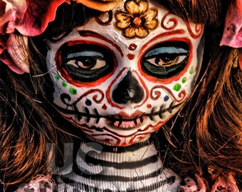 Dia De Los Muertos Doll Canon PRINT 362 Reproduction from Photograph by Michael Brown/UC Studios